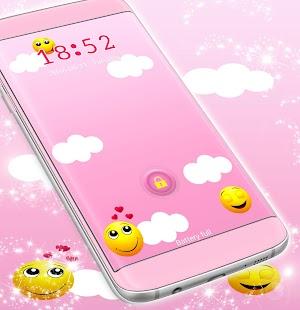 Emoji Locker Téma - náhled