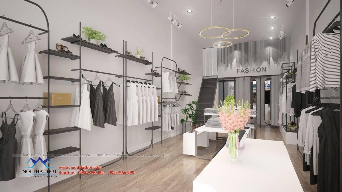 thiết kế shop thời trang hoài đức 7