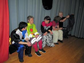 Photo: Auch die Frauen der Pfeifergruppe sind bereit