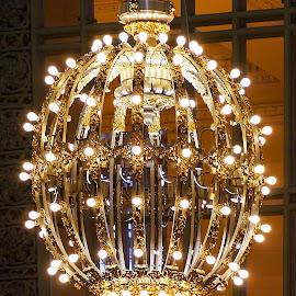 The Golden Lamp by Joatan Berbel - Artistic Objects Other Objects ( vintage, art, artistic objects, culture, design )