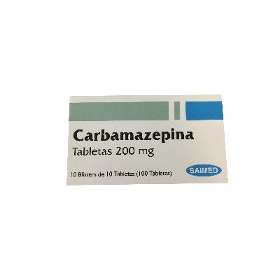 Carbamazepina Saimed 200 mg Blister x 10 Tabletas