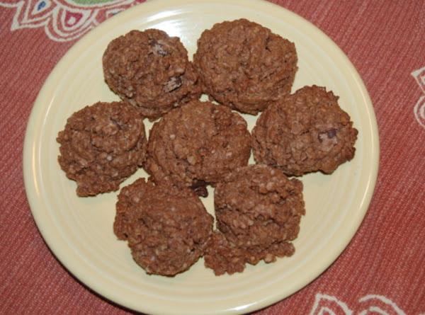 Double Chocolate Oatmeal Cookies Recipe