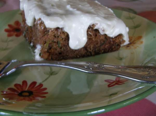 Spiced Zucchini Cake With Cream Cheese Frosting