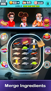 Cooking Express - Match & Serve Restaurant Game Screenshot