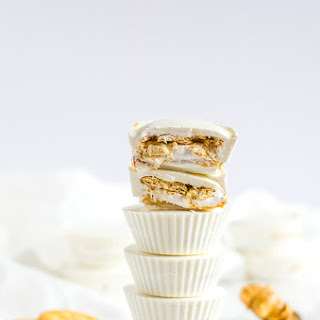 Ritz and Marshmallow Fluff Peanut Butter Cups.
