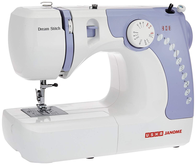 Usha Janome Dream Electric Sewing Stitch Automatic Zig-Zag Machine