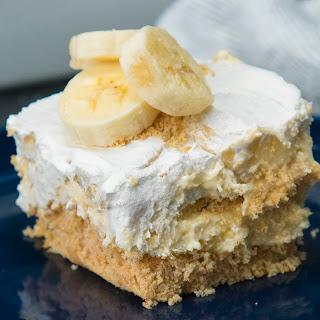 Banana Cream Pie Lasagna.