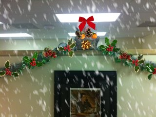 Photo: Hallway Garland