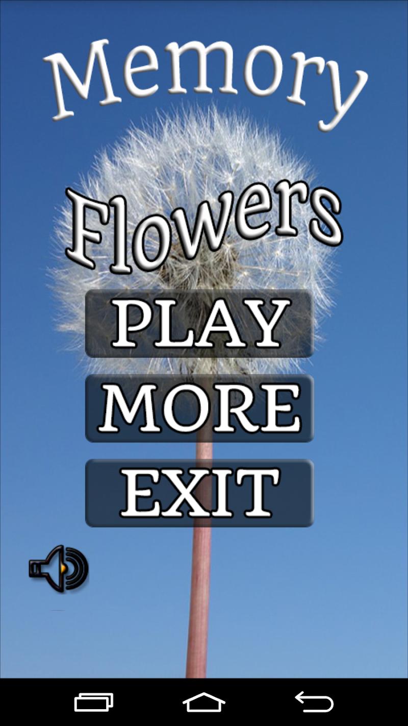 Скриншот Цветы Игра память 2015