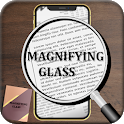 Magnifier - Magnifying Glass with light icon