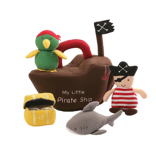 Gund Pirate Ship Baby Playset.