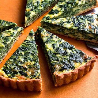 Spinach and Onion Tart