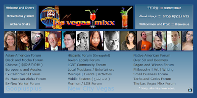 Las Vegas Mixx multicultural forums (2011) asian, black, hispanic, jewish, mormon, musician, gay, LBGT, New York, Californian, arabic