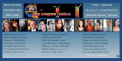 Las Vegas Mixx multicultural forums (2011) asian, black, hispanic, jewish, mormon, musician, gay, LBGT, New York, Californian, arabic