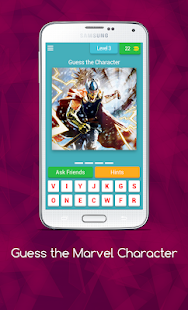 Guess the Marvel Character for PC-Windows 7,8,10 and Mac apk screenshot 4