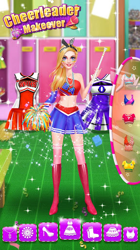 ud83cudfc0ud83dudc67ud83dudc83Cheerleader Dressup - Highschool Superstar modavailable screenshots 6