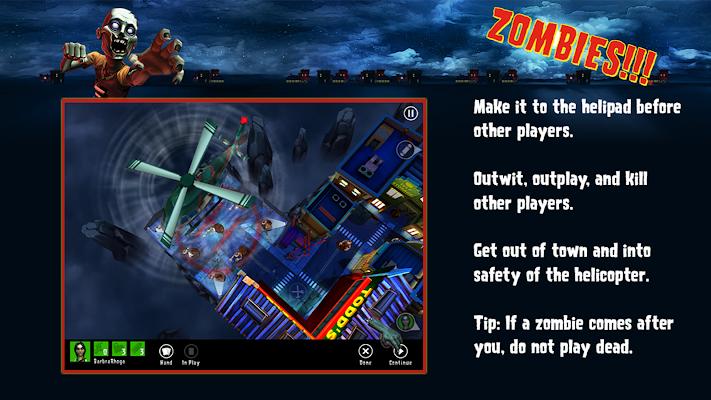 Zombies!!! ® Board Game - screenshot