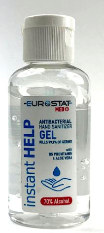 Handsprit gel med aloe vera 50 ml