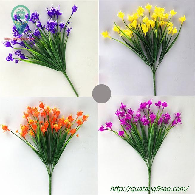Hoa giả đẹp bán giá sỉ dùng để trang trí