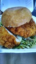 Photo: Bakesale betty chicken sandwich, OMG