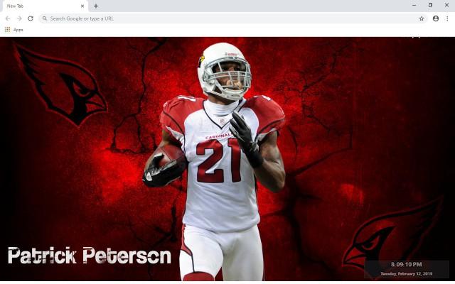 NFL Arizona Cardinals New Tab Theme