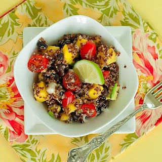 Black Bean, Mango and Quinoa Salad