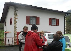 Photo: 13h14 Passage à Ataun (Guipuzcoa) dans la maison Sara de J.M. Barandiaran (Levi Strauss du Pays Basque dixit le routard)