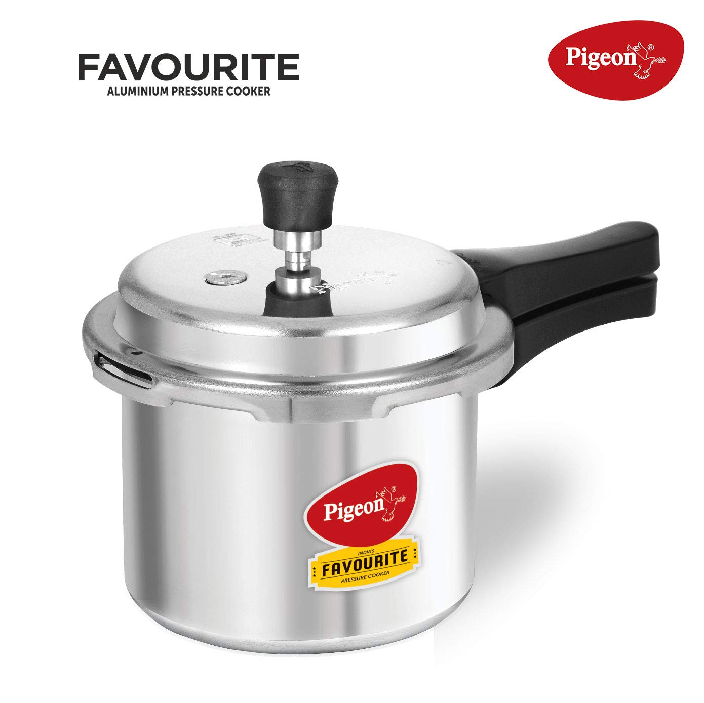 Pigeon by Stovekraft, Favorite Induction Base Aluminum Pressure Cooker