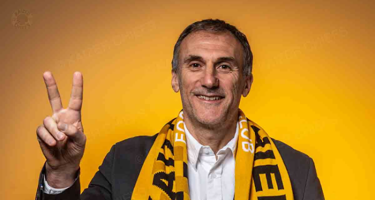 Kaizer Chiefs new coach, Giovanni Solinas.