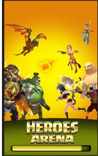 Code Triche Moba Heroes Arena APK MOD screenshots 1