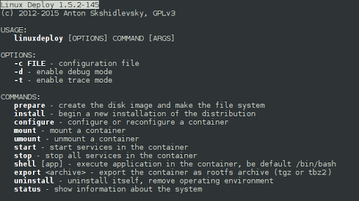Linux Deploy 2.2.0 screenshots 19