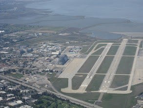 Photo: Moffett Federal AirField... Hangar One easily spotted!