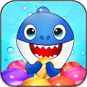 Shark Pop! Bubble Shooter Puzzle Adventure Baby icon