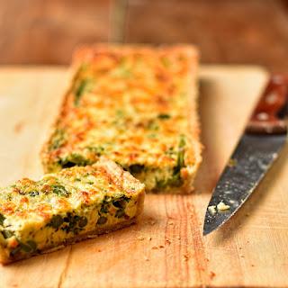 Asparagus, Broad Bean and Spring Herb Tart Recipe