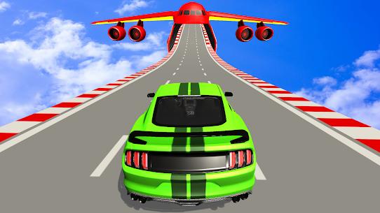 US Muscle car stunts 3D mega ramp car: impossible 3