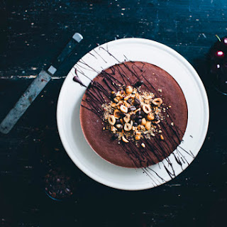 Mocha & Black Bean Mousse Cake