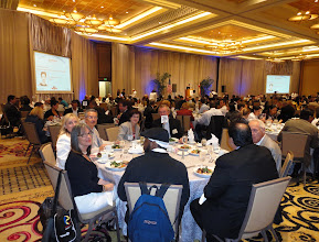 Photo: SCORE table of entrepreneurs at Hispanic Unity's 2012 Entrepreneur Summit