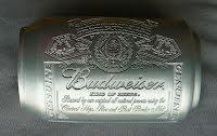 Bältesspänne Budweiser burk