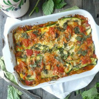 Paleo (and Vegan) Zucchini Lasagna with Cashew Cheese.