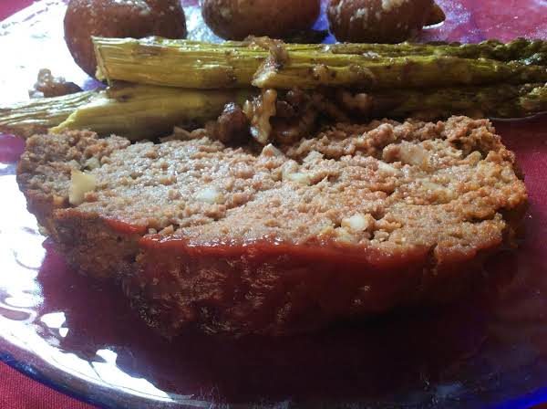 Tasty Meatloaf With Sweet And Savory Glaze