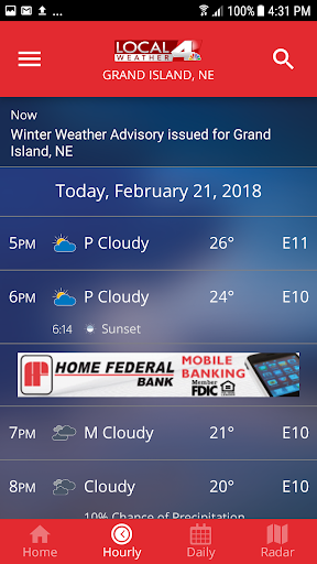 KSNB Local4 Weather 5.0.600 screenshots 3