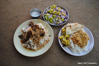Photo: Thanks to Trek Leader Chaitali and Kiran...for the awesome piece (Chiken) of work... :)