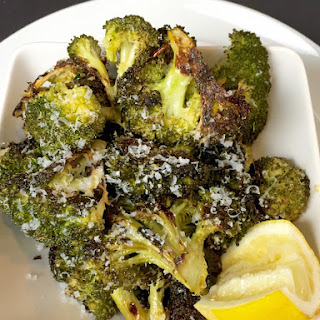 Roasted Broccoli with Lemon & Parm