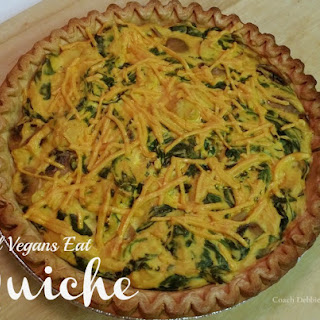 Vegan Quiche.