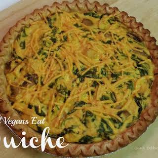 Vegan Quiche.