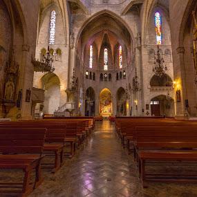 Esglesia de Nostra Senyora dels Dolors, Manacor by Katarzyna Najderek - Buildings & Architecture Public & Historical ( spain, church, historical, mallorca, building, photography, architecture )