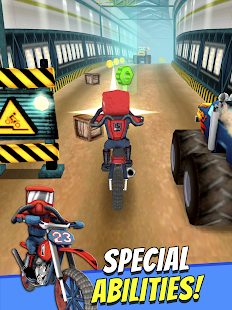 Cartoon Dirt Bike Runner- screenshot thumbnail