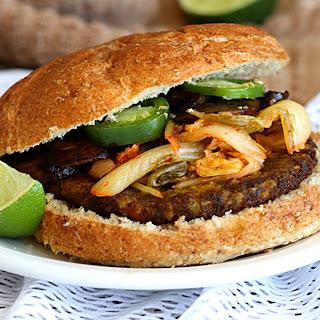 Korean Bibimbap Veggie Burgers