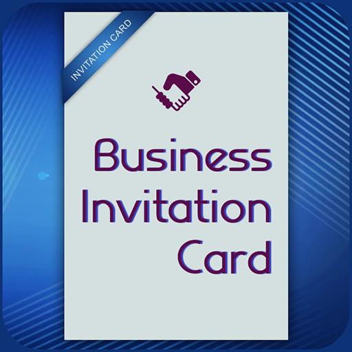 Business card invitation maker poster ads maker apl di google play stopboris Images