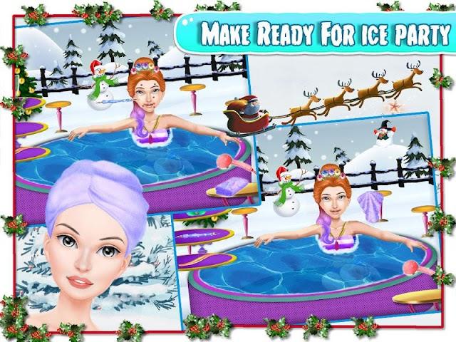 android Christmas Girlfriend Spa Screenshot 13